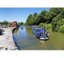 Devizes Wharf, Wiltshire, United Kingdom. Photographic Print