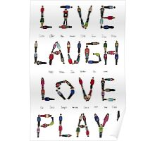 Live Laugh Love Play! Poster