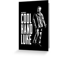 Paul Newman - Cool Hand Luke Greeting Card