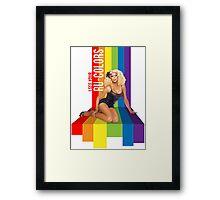 Ru-Colors Framed Print