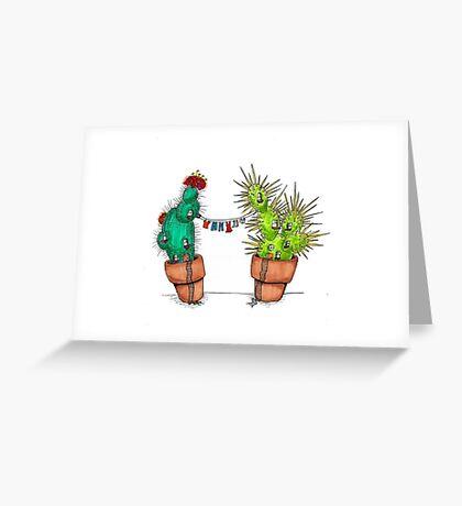 Cacti Neighborhood Greeting Card