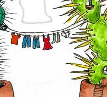 Cacti Neighborhood Sticker