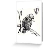 Australian Kookaburra Greeting Card