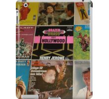 Vintage Records Collection 1A iPad Case/Skin