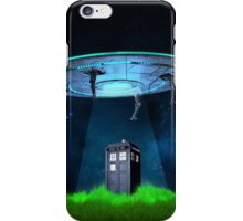 Tardis UFO iPhone Case/Skin