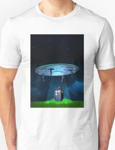 Tardis UFO Unisex T-Shirt