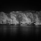 Amstel River in Infrared #1 by ColourBlind