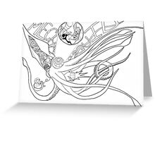 Mecha Squid Greeting Card