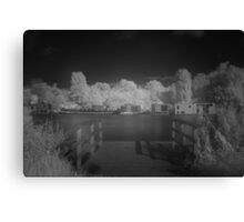 Amstel River in Infrared #4 Canvas Print