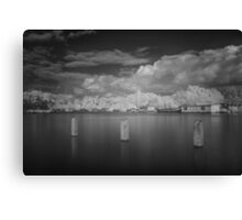 Amstel River in Infrared #5 Canvas Print
