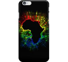 African Continent,South African Flag Colours iPhone Case/Skin