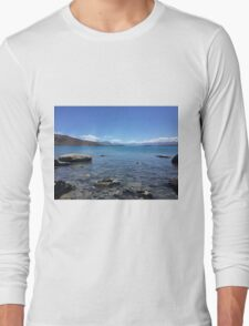 Lake tekapo-New Zealand  Long Sleeve T-Shirt