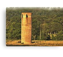 """""""An East Tennessee Farmer's Version of a European Castle""""... prints and products Canvas Print"""