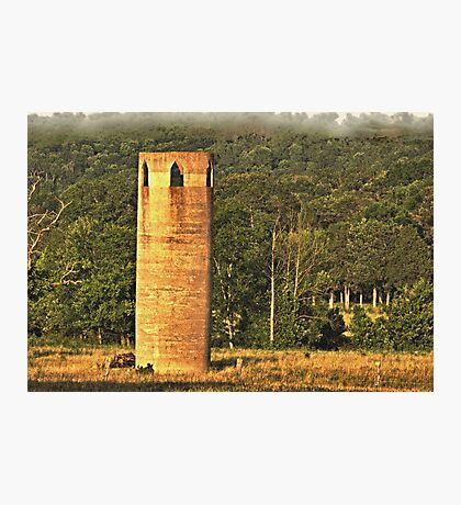 """""""An East Tennessee Farmer's Version of a European Castle""""... prints and products Photographic Print"""