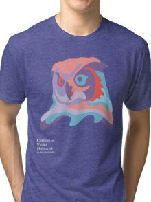 Catherine's Owl - Dark Shirts Tri-blend T-Shirt
