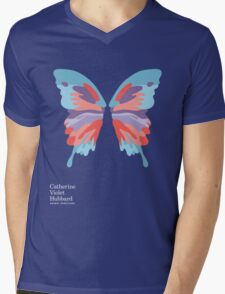 Catherine's Butterfly - Dark Shirts Mens V-Neck T-Shirt