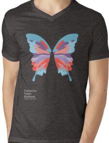 Catherine's Butterfly - Dark Shirts Mens V-Neck T-Shirt