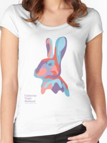 Catherine's Rabbit - Light Shirts Women's Fitted Scoop T-Shirt