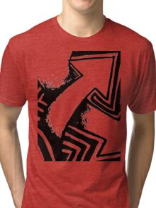 Three Arrows Tri-blend T-Shirt