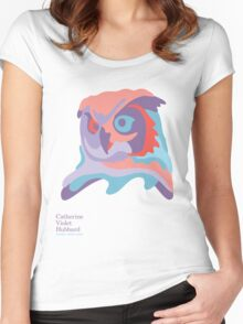 Catherine's Owl - Light Shirts Women's Fitted Scoop T-Shirt