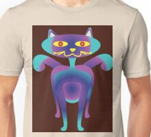 cat smile ilustration Unisex T-Shirt