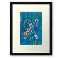The Spirits of the Four Seasons Framed Print