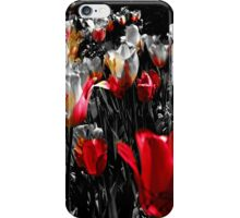 Tulips, Pink with a Touch of Yellow iPhone Case/Skin