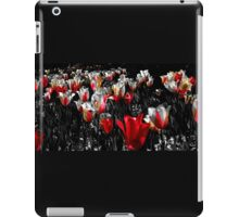 Tulips, Pink with a Touch of Yellow iPad Case/Skin