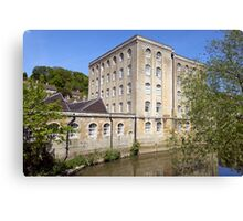 Abbey Mill, Bradford on Avon, Wiltshire, United Kingdom. Canvas Print