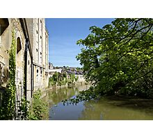 Abbey Mill, Bradford on Avon, Wiltshire, United Kingdom. Photographic Print