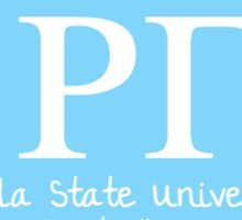 Rho Gamma Sticker