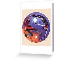Daredevil/Elektra: Harmony Greeting Card
