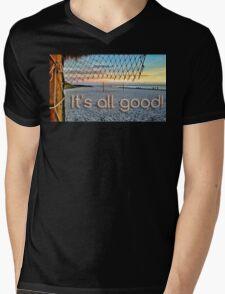 It's All Good Mens V-Neck T-Shirt