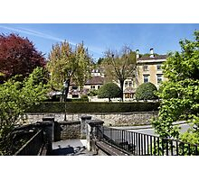 The Town of Bradford on Avon, Wiltshire, United Kingdom. Photographic Print