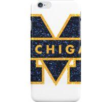 Glitter Michigan M iPhone Case/Skin