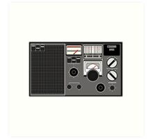 Pixel Radio 1 of 3 Art Print