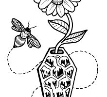 Honeycomb Coffin: Memento Mori by LeftHandedLenya
