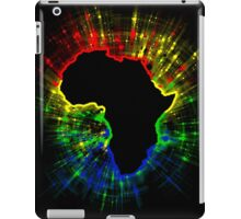 African Continent,South African Flag Colours iPad Case/Skin