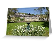 The Town of Bradford on Avon, Wiltshire, United Kingdom. Greeting Card
