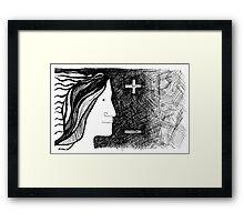 Plus-Minus Framed Print