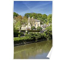 The Town of Bradford on Avon, Wiltshire, United Kingdom. Poster