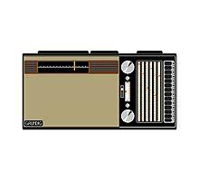 Pixel Radio 3 of 3 Photographic Print