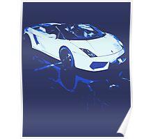 Lamborghini Gallardo illustration Poster