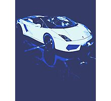 Lamborghini Gallardo illustration Photographic Print