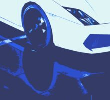Lamborghini Gallardo illustration Sticker