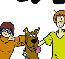 Scooby-Doo ! Familly Sticker