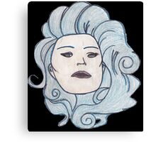 Madame Leota (Haunted Mansion Fashion Drawing) Canvas Print