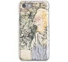 Hopeful girl iPhone Case/Skin
