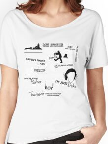 """""""Haven""""ly Quotes Women's Relaxed Fit T-Shirt"""