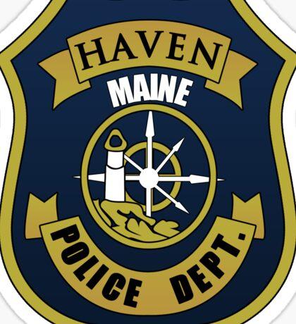 Haven PD. (Alternate) Sticker